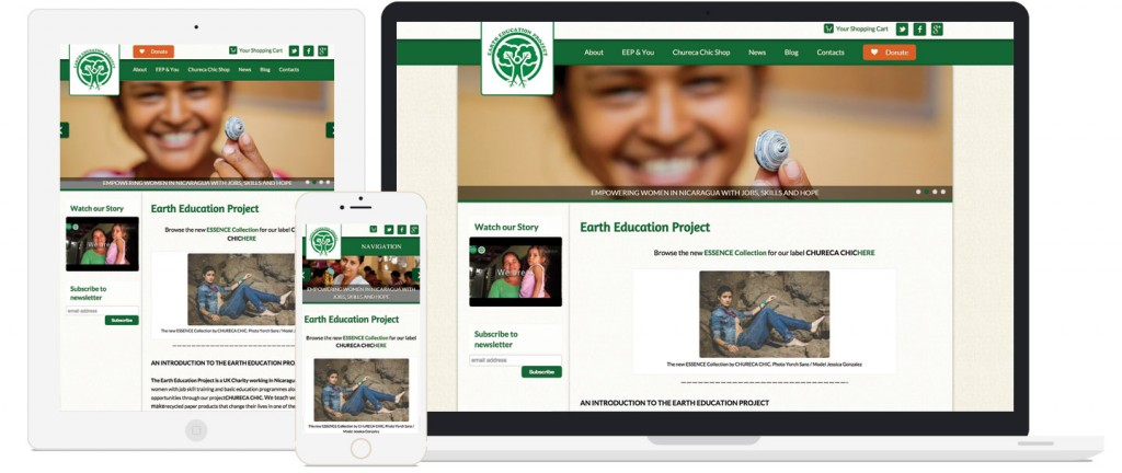 Earth Education Project Responsive Display
