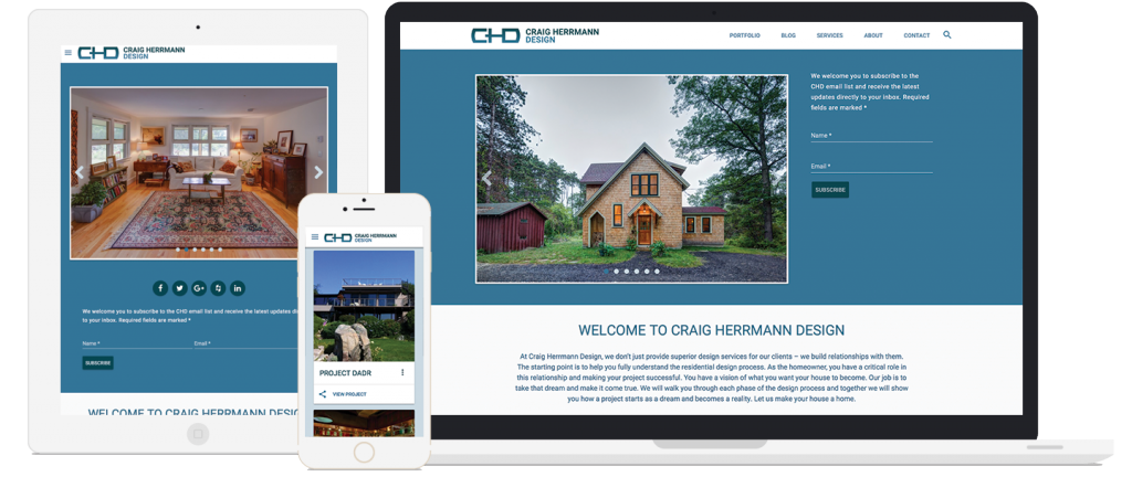 craig herrmann design website